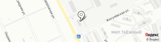 Отдел военного комиссариата Хабаровского края по Комсомольскому и Солнечному районам, району имени Полины Осипенко на карте Комсомольска-на-Амуре