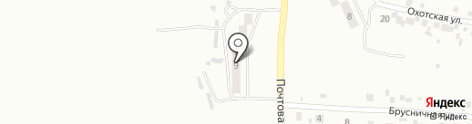 Почтовое отделение №26 на карте Комсомольска-на-Амуре