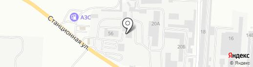 Стафф авто на карте Комсомольска-на-Амуре
