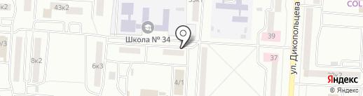 Центр психологического консультирования и психоанализа на карте Комсомольска-на-Амуре