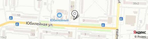 Киоск по продаже хлебобулочных изделий на карте Комсомольска-на-Амуре