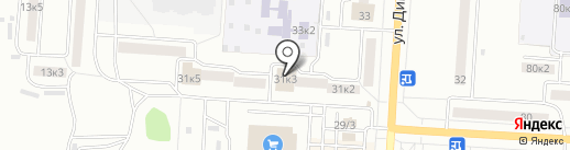 Банкомат, ТрансКредитБанк на карте Комсомольска-на-Амуре