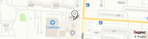ВЕСТА на карте Комсомольска-на-Амуре