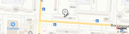 Аква Плюс на карте Комсомольска-на-Амуре