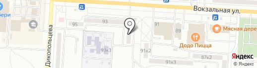 Темп-ДВ на карте Комсомольска-на-Амуре