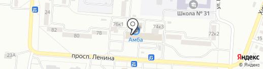 Горводоконтроль на карте Комсомольска-на-Амуре