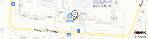 Виола на карте Комсомольска-на-Амуре