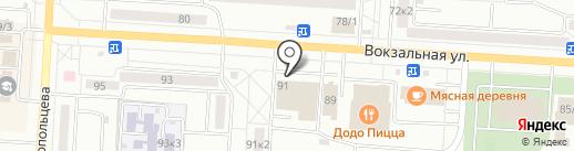 Макар на карте Комсомольска-на-Амуре