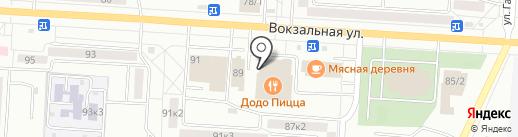 Поляна на карте Комсомольска-на-Амуре