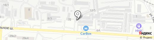 Станционный на карте Комсомольска-на-Амуре