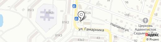 Пикник на карте Комсомольска-на-Амуре