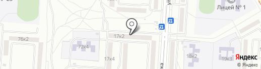 Офтальмологический центр на карте Комсомольска-на-Амуре