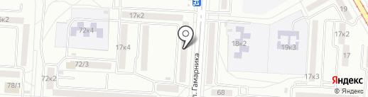 КОНТО ДВ на карте Комсомольска-на-Амуре
