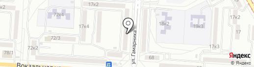 Швейная мастерская на карте Комсомольска-на-Амуре