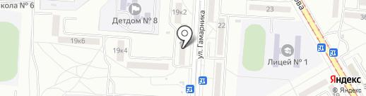 Совхоз Некрасовка на карте Комсомольска-на-Амуре