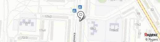 Магазин игрушек и сувениров на карте Комсомольска-на-Амуре