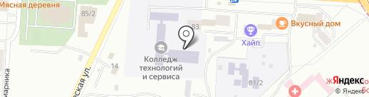 Подсолнух на карте Комсомольска-на-Амуре