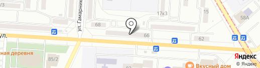 Мастерская по ремонту обуви на карте Комсомольска-на-Амуре