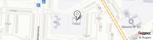 Детский сад №121 на карте Комсомольска-на-Амуре