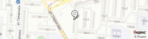 Участковый пункт полиции, Отдел полиции №1 на карте Комсомольска-на-Амуре