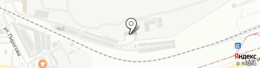 Ведомственная охрана железнодорожного транспорта РФ на карте Комсомольска-на-Амуре