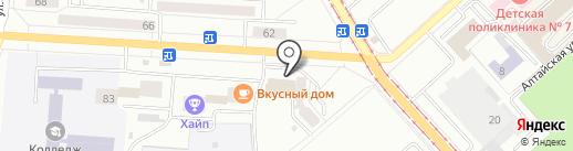 Рапсодия на карте Комсомольска-на-Амуре