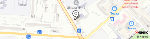 Супермаркет мини-цен на карте Комсомольска-на-Амуре