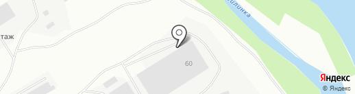Компания грузоперевозок на карте Комсомольска-на-Амуре