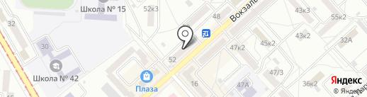 Визави на карте Комсомольска-на-Амуре