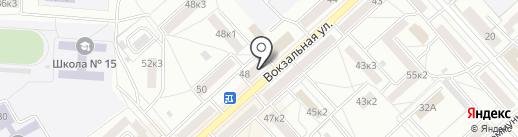 АЙРОНМЭН на карте Комсомольска-на-Амуре