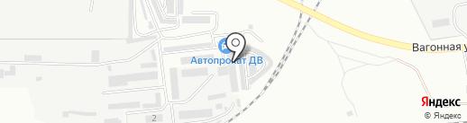 Дальавтогаз на карте Комсомольска-на-Амуре