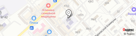 РЖД на карте Комсомольска-на-Амуре