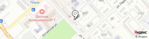 Комитет государственного строительного надзора и экспертизы Правительства Хабаровского края на карте Комсомольска-на-Амуре