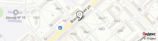 Страж на карте Комсомольска-на-Амуре