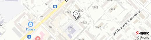 Первая грузовая компания на карте Комсомольска-на-Амуре