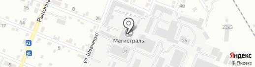 Эвалон на карте Комсомольска-на-Амуре