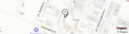 Уголовно-исполнительная инспекция УФСИН России по Хабаровскому краю на карте Комсомольска-на-Амуре