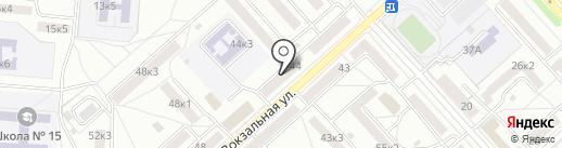 ПЕРВЫЙ ДАЛЬНЕВОСТОЧНЫЙ на карте Комсомольска-на-Амуре