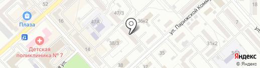 ИнтеркомАмур на карте Комсомольска-на-Амуре