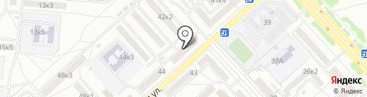 Пятерочка на карте Комсомольска-на-Амуре