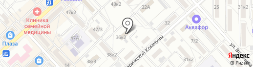 СОГАЗ на карте Комсомольска-на-Амуре