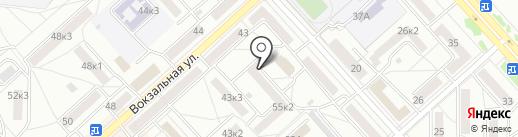 Смак+ на карте Комсомольска-на-Амуре