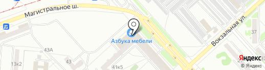 АВТОГРУЗ на карте Комсомольска-на-Амуре