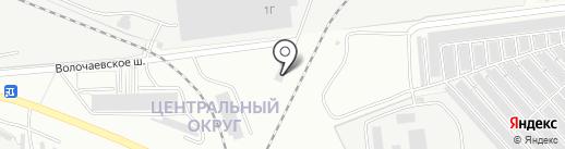 Видеостудия Павла Шпортюка на карте Комсомольска-на-Амуре