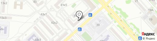 Магазин часов на карте Комсомольска-на-Амуре