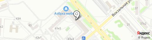 Agio на карте Комсомольска-на-Амуре