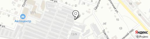 Staff auto на карте Комсомольска-на-Амуре