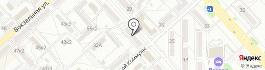 Солнечный дом на карте Комсомольска-на-Амуре