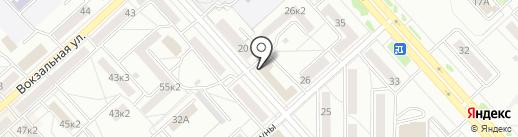 ДВ-СТЕКЛО на карте Комсомольска-на-Амуре