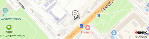 Бизнес Мозаика на карте Комсомольска-на-Амуре